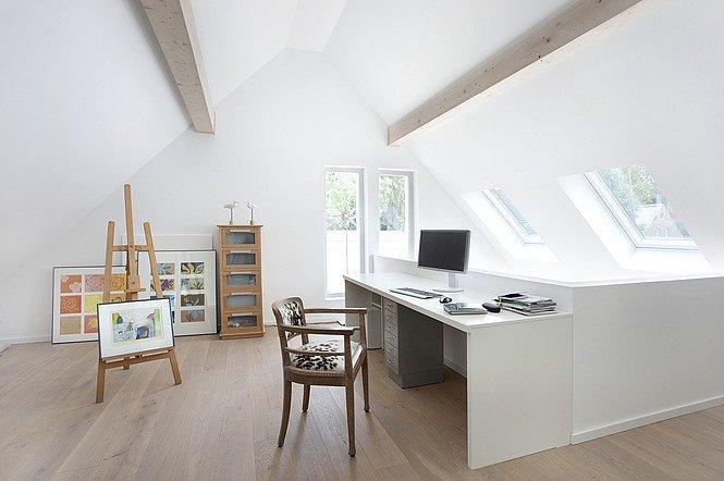 EFH Haus 4 Innenansicht Dachgeschoss